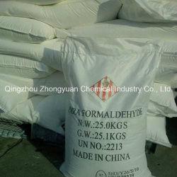Paraformaldehide 92%، 96%، تستخدم لصناعة الورق، تركيب الطلاء بالزيت والطلاء العلوي لطلاء السيارة
