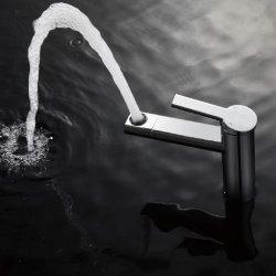Salle de bains en laiton solide porcelaine sanitaire robinet Mélangeur de bidet du bassin en laiton robinet Appuyez sur F16A01cp