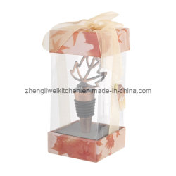 Acero Leaf Shaped Wine Stopper in Gift Box (700078)