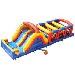 Cours d'assaut Colorfulpark Outdoor Kids château gonflable l'équipement d'Amusement Amusement Park Château gonflable