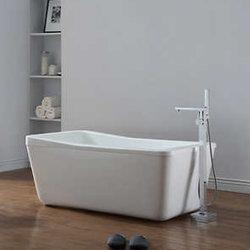 Acrílico adultos Bañera ovalada en el Hogar Moderno bañera independiente