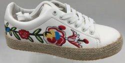 Вышивание стиле пеньки веревки подошва повседневной жизни обувь