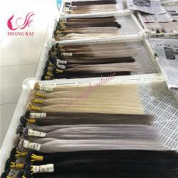 Mayorista de la fábrica de larga duración de la moda del cabello 100% virgen I-Tape Prebonded Hair Extension