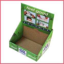 O logotipo personalizado impresso brinquedo de papel ondulado alimentos doces Caneta Chocolate roupas íntimas Cosméticos Perfume Exibição de produtos a retalho do PDQ Embalagem caixa de papelão da embalagem