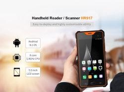 手持ち型RFIDの読取装置および第2バーコードのスキャンナーのアンドロイド8.1の1080Pタッチ画面、GPS