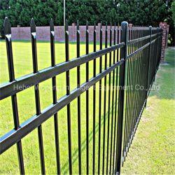 Wp-F001 gros tube carré de piquetage en métal galvanisé clôtures