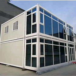 De eenvoudige Assemblage van het Moderne Huis van de Container/Modulaire Woon/prefabriceerde Sta-caravan