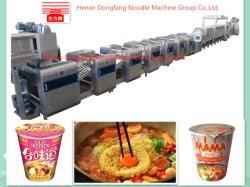 Digite 600 frito totalmente automática da linha de produção de macarrão instantâneo/Máquina de macarrão/Máquina de macarrão/Linha de tomada de macarrão