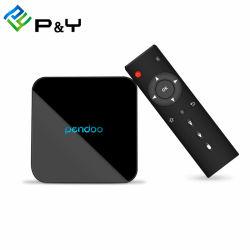 Doos IPTV van uitstekende kwaliteit van de Doos van Pendoo X10 S905W van de Doos van TV 2GB 16GB de Slimme Vastgestelde Hoogste Androïde Arabische 4K met Kodi 17.6 Doos WiFi van de Doos van Media Player de Androïde Vastgestelde Hoogste