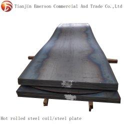 Stahlwarm gewalzte Fluss-Stahl-Platte des ring-HRC Ss400 Q235 St37