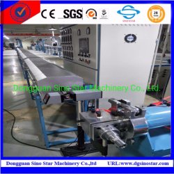 Câble en silicone Extruer Machine pour le fil de l'Extrusion de câble en silicone