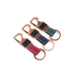 Accessoire de marque cuir métal coloré avec le trousseau