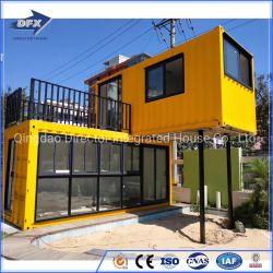 20FT/40FTの高品質の鉄骨構造のプレハブはプレハブの容器の家を収容する