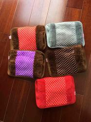 高品質の電気熱湯袋/単に純粋なカラー電気手のウォーマー/再充電可能な手のウォーマー袋
