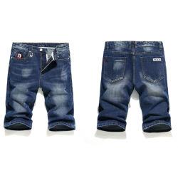 人(HDMJ0035-18)のための淡いブルーの中型の長さのジーンズ