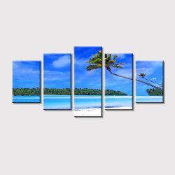 Полотно Multi-Panels печатает стены искусство украшения картины маслом 5PCS/Set