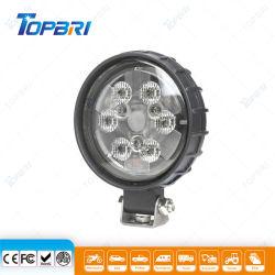 Haz la trampa de la ronda a los golpes de LED 18W de luz de trabajo de construcción