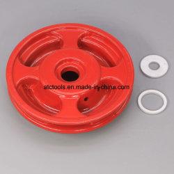 브러시 커터 잔디 깍는 기계를 위한 Nyon 4개의 선을%s 가진 빨간 알루미늄 트리머 헤드
