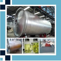 고품질 10-12tpd를 기름을 바르는 플라스틱 정제 공장