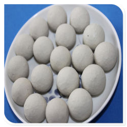 19mm Balle d'alumine utilisé dans l'industrie chimique