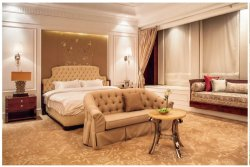 Mobiliário de quarto de hotel de luxo com cama de hotel (YB-827-1)
