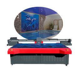 La pittura di parete a base piatta impressa 3D della stampante di ceramica dell'inchiostro di Ntek lavora Cmyk alla macchina il LC il Lm W e la vernice Yc2030h