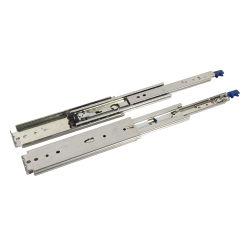 Verrouiller le roulement à billes à usage intensif des coulisses de tiroir télescopique