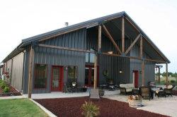 Edificio de acero Hot-Selling materiales para techos prefabricados casa