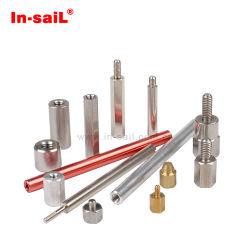 Abstandshalter Stecker-Buchse, Platine-Platine-Steckverbinder, Kupplungsmutter, Pressspacer