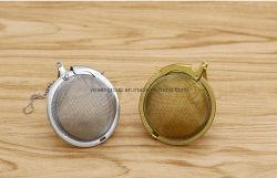 Acero inoxidable Infusers creativa del Té El té de la pelota con la cadena