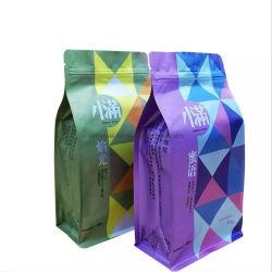 Custom напечатано встать чехол молнией уплотнение мешок для упаковки для немолотого кофе