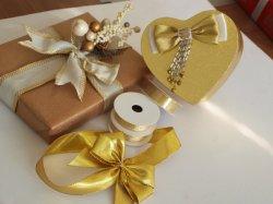 Cor do logotipo de impressão personalizado Multi-Applicable fita de embalagem Caixa de oferta jóias de Natal Chocolate ///Cosméticos Candy Cartão Presente