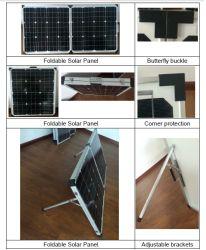 Haute qualité 18V 60W Panneau solaire pliable pour toit de la chambre