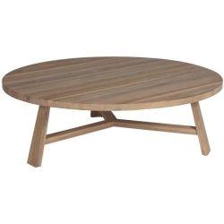 Trépied de tables à café avec rond en bois Haut de page