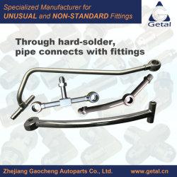 ステンレス鋼、堅はんだを通したPipe&Fittings鋼鉄アセンブリ