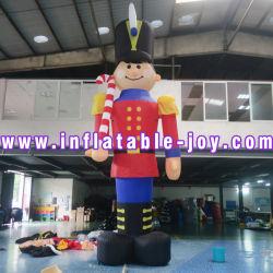 Inflables inflables Decoración de Navidad Santa Claus/dibujos animados inflables para actividades al aire libre