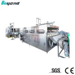 Automatische het Vullen van de Was van het Water van de Fles Barreled van Gallon 3-5 Vloeibare Grote het Afdekken Machine