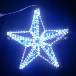 Star LED Décoration Décoration de Noël de gros feux de jardin