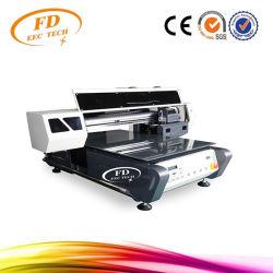 工場販売8カラーインクジェットA2紫外線プリンターLEDはとの電話箱、Tシャツ、革、TPUのための効果のゴルフ紫外線平面プリンターを浮彫りにする