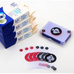 Schede di gioco di plastica impermeabili del PVC di stampa su ordinazione