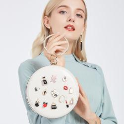 Nuevo diseño de moda bolsos de moda blanco bolsos de noche velada Sac de la mujer Mini bolsas de la noche de la perla