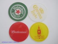 Индивидуального продвижения по службе пиво чашки пластиковые акриловые подарок Coaster