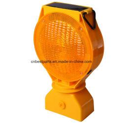 Luz âmbar intermitente Solar lâmpada estroboscópica Segurança Rodoviária Luz Barricade
