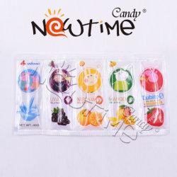 NTS19012 5flavors per zak mengt Kleurrijke fruitjam