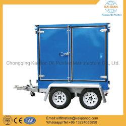 L'équipement de filtration d'huile de transformateur de remorque