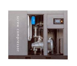 90kw 120double HP entraînée par la deuxième étape de la compression de Double Compresseur à vis pour l'usine