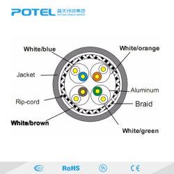 La longitud y color personalizado SFTP Cable de red Cat7