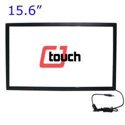 """Tipo de interfaz USB Cjtouch Productos y Stock de infrarrojos panel táctil de 15,6"""" de varios bastidor"""