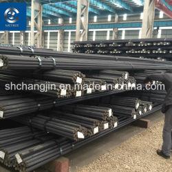 Grand stock de matériaux de construction du TMT 14mm d'armature de fer laminés à chaud la tige de barres d'armature en acier déformé