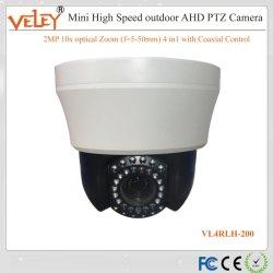 Zoom de 10X Velocidad Mini Cámara domo IP para su uso en interiores